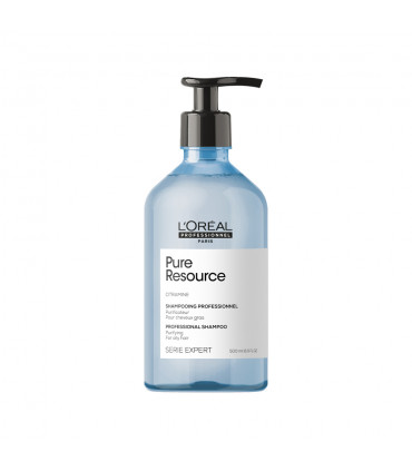 L'Oréal professionnel Série Expert Pure Ressource Shampooing 500ml Shampooing purifiant - 1