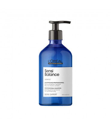 L'Oréal professionnel Série Expert Sensi Balance Shampoo 500ml Kalmerende shampoo voor de gevoelige hoofdhuid - 1