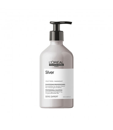 L'Oréal professionnel Série Expert Silver Shampoo 500ml Silver shampoo - 1