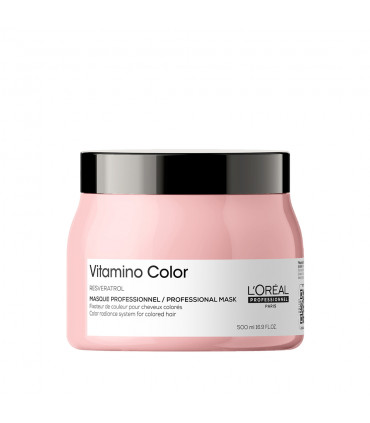 L'Oréal professionnel Série Expert Vitamino Color Masque 500ml Masque fixateur de couleur à rincer avec Resveratrol pour cheveux
