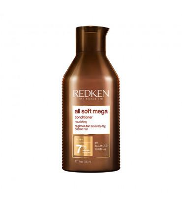 Redken All Soft Mega Conditioner 300ml Après-shampoing hydratant pour cheveux très secs - 1
