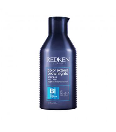 Redken Color Extend Brownlights Shampooing 300ml Shampoing correcteur de couleur pour cheveux bruns - 1