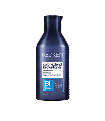 Redken Color Extend Brownlights Conditioner 300ml Soin démêlant correcteur couleur pour cheveux bruns - 1