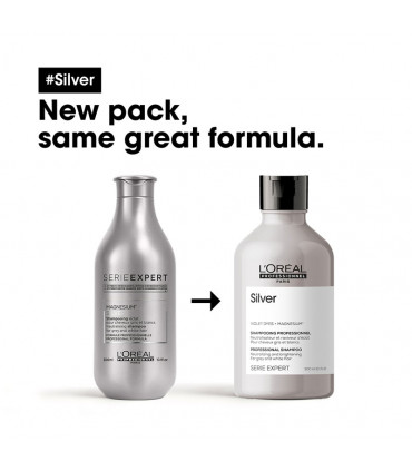 Serie Expert Silver Shampoo 300ml