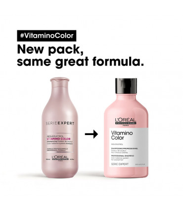 Série Expert Vitamino Color Shampooing 300ml