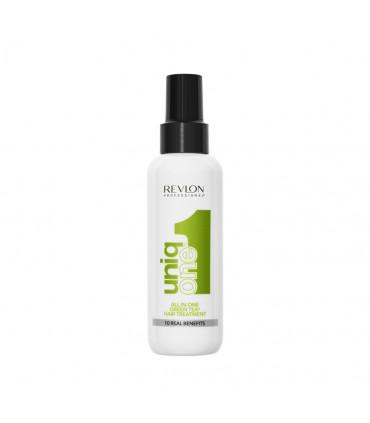 Revlon Professional Uniq One Hair Treatment Green Tea 150ml Soin sans rinçage au thé vert - 1