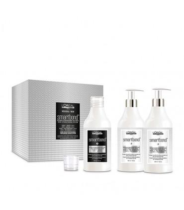 L'Oréal professionnel Smartbond Technical Kit 3*500ml Behandeling die het haar beschermt en verstevigt tijdens kleurbehandelinge
