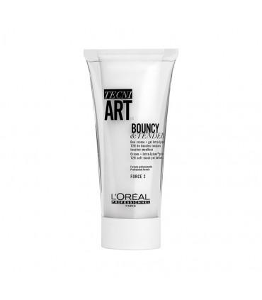 L'Oréal professionnel Tecni Art19 Bouncy & Tender 150ml Protection anti-humiditéet uneaction anti-crunch - 1