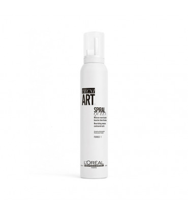 L'Oréal professionnel Tecni Art19 Spiral Queen 200ml Mousse nourrissante pour cheveux bouclés - 1