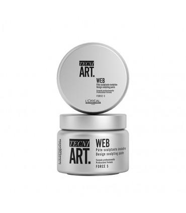 L'Oréal professionnel Tecni Art19 Web 150ml Pâte sculptante - 1