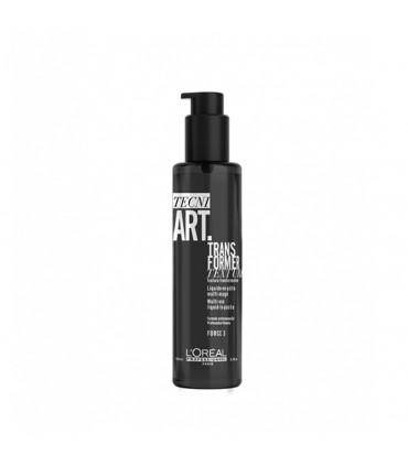 L'Oréal professionnel Tecni Art19 Trans Lotion 150ml Lotion die zich omvorms in vezelachtige pasta voor discipline, texture en d