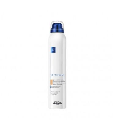 L'Oréal professionnel Serioxyl Spray Blond 200ml Volumiserende & corporiserende kleurspray voor dunner wordend haar. - 1