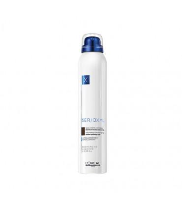 L'Oréal professionnel Serioxyl Spray Brun 200ml Volumiserende & corporiserende kleurspray voor dunner wordend haar. - 1