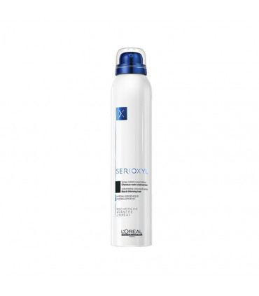 L'Oréal professionnel Serioxyl Spray Noir 200ml Volumiserende & corporiserende kleurspray voor dunner wordend haar. - 1