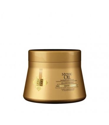 L'Oréal professionnel Mythic Oil Masque Cheveux Fins 200ml Masque de nutrition et brillance pour les cheveux fins - 1