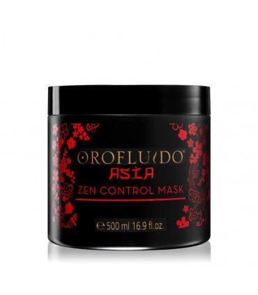 Orofluido Orofluido Asia Zen Control Haarmasker 500ml Voedende Masker voor Onhandelbaar en Pluizig Haar - 1