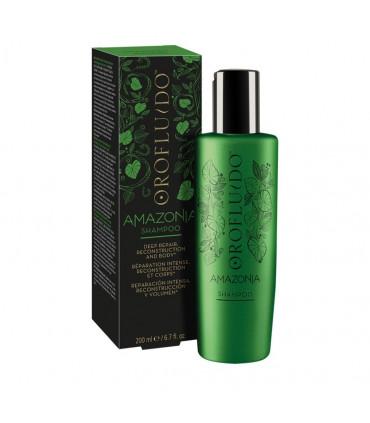 Orofluido Orofluido Amazonia Shampoo 200ml Verfraaiende en regeneratieve shampoo voor Beschadigd en Broos Haar - 1